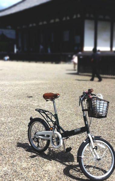 Bicycle near Sanjusangendo, Kyoto
