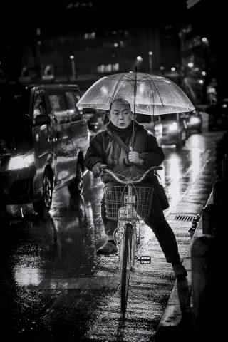 Bike Man by Jerard Touren