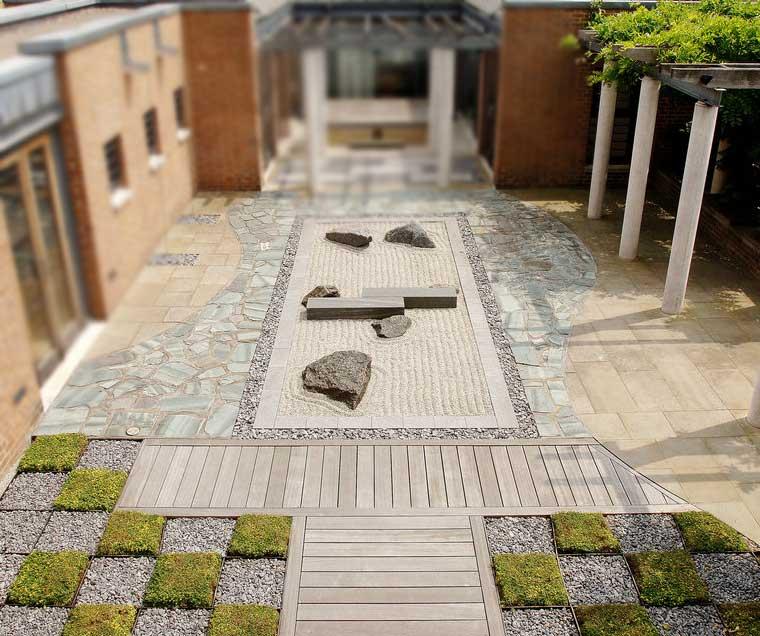 SOAS Japanese Rooftop Garden