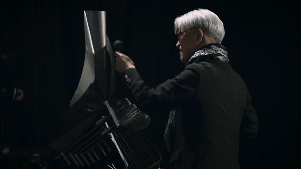 Ryuichi Sakamoto on the UFO