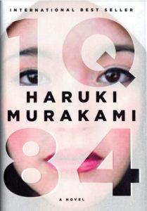 1Q84 haruki murakami book cover