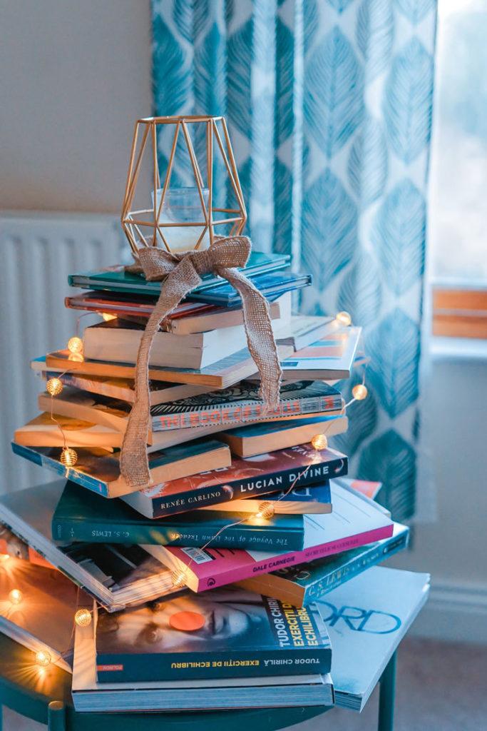 tsundoku stack of books