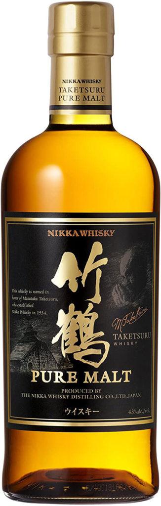 Japanese whisky Nikka Taketsuru pure malt