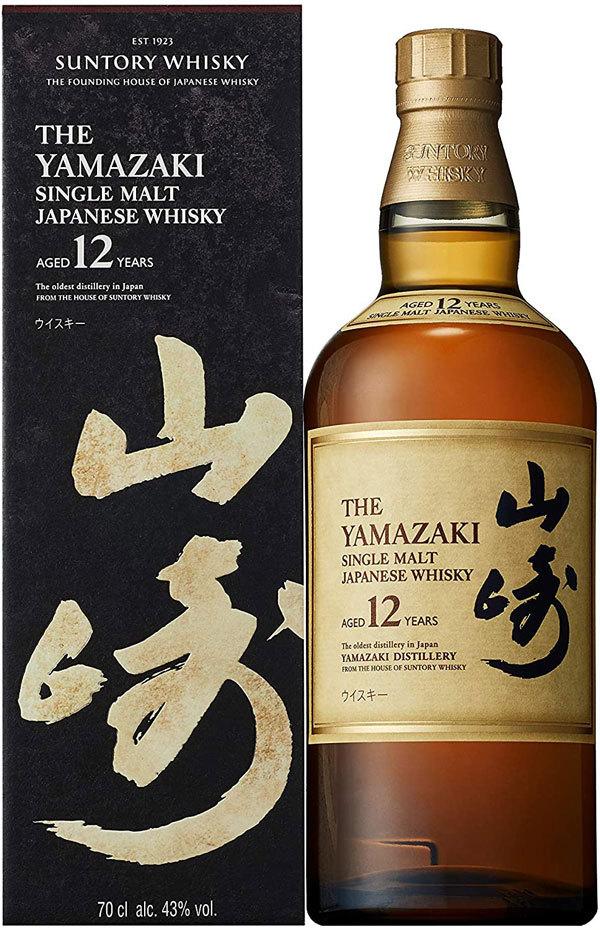 Japanese whisky Yamazaki 12-year single malt