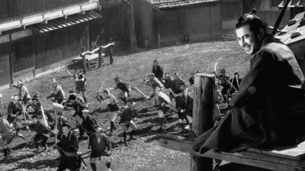 Yojimbo Battle scene