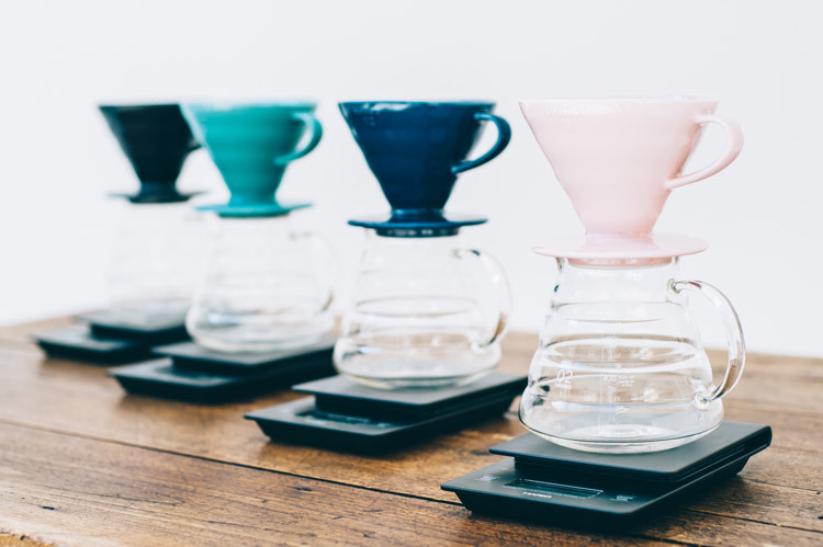hario v60 drippers line