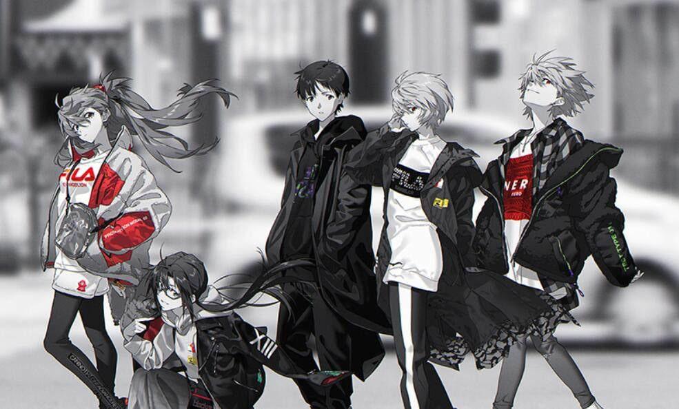 FILA/Neon Genesis Evangelion clothing