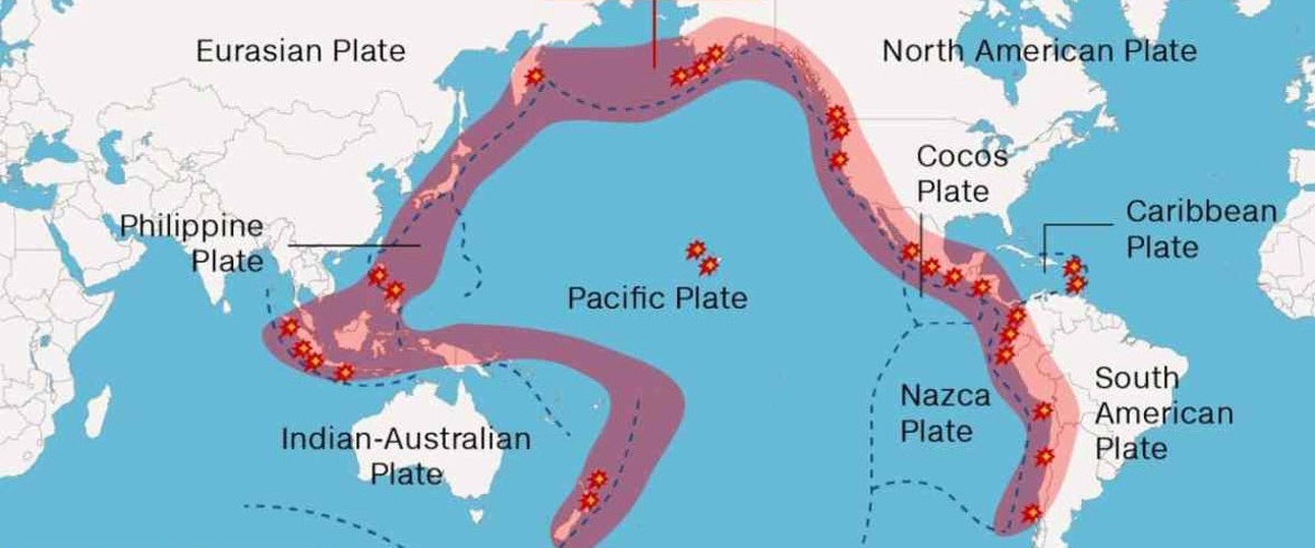 Pacific Rim Volcanic Seismic Belt  Photo Credit: KK News / Song Su Laoquan