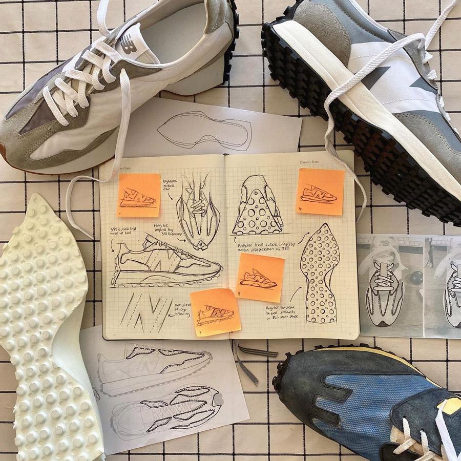 new balance shoe design