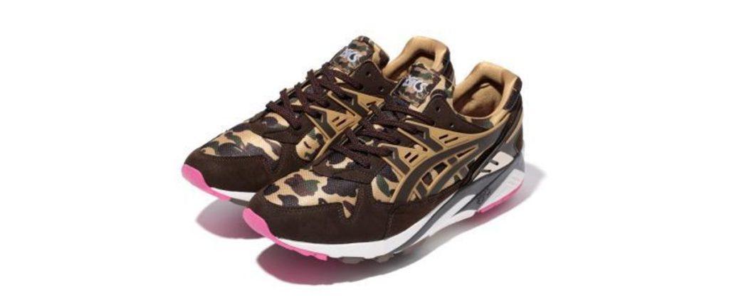 BAPE Asics sneakers