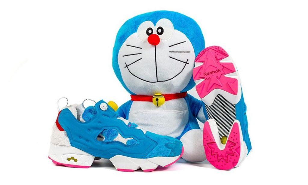 reebox atmos doraemon sneakers