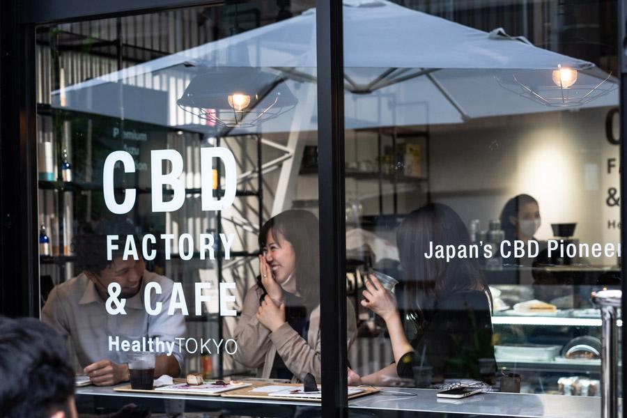HealthyTOKYO Café Façade