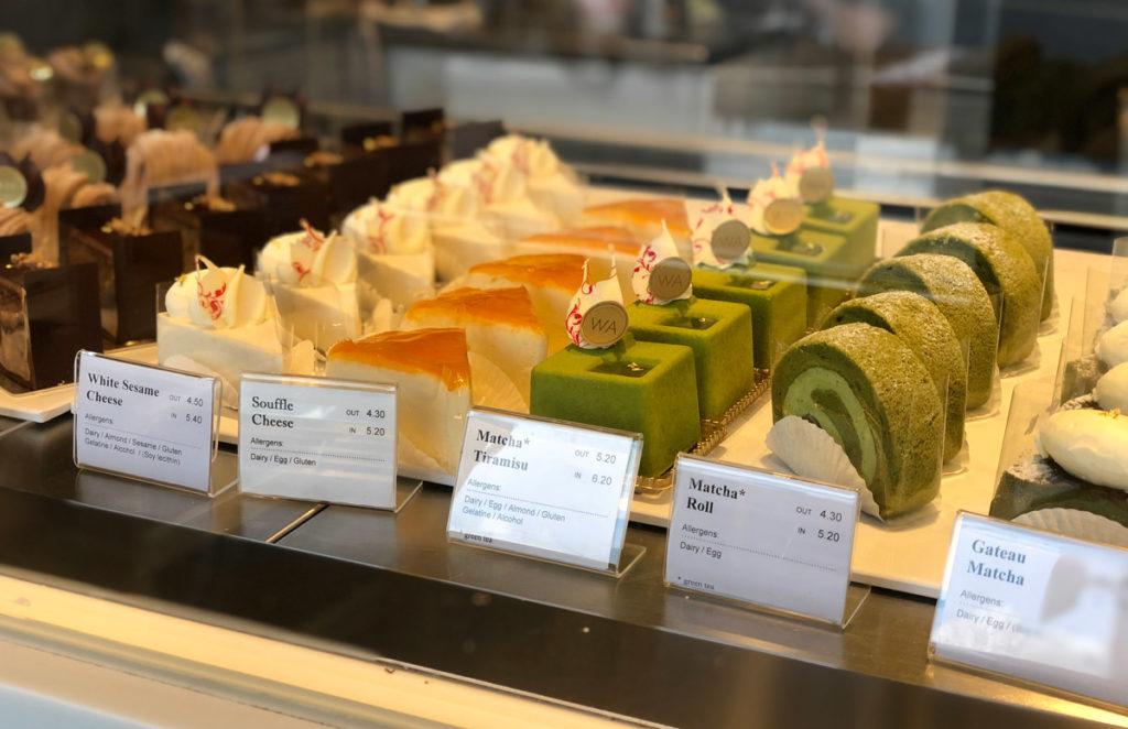 Japanese Desserts at WA Cafe