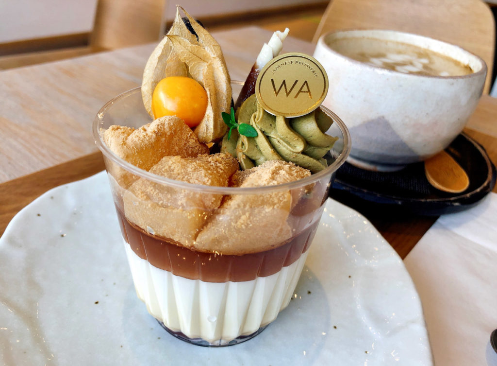Autumn Panna Cotta at WA Cafe