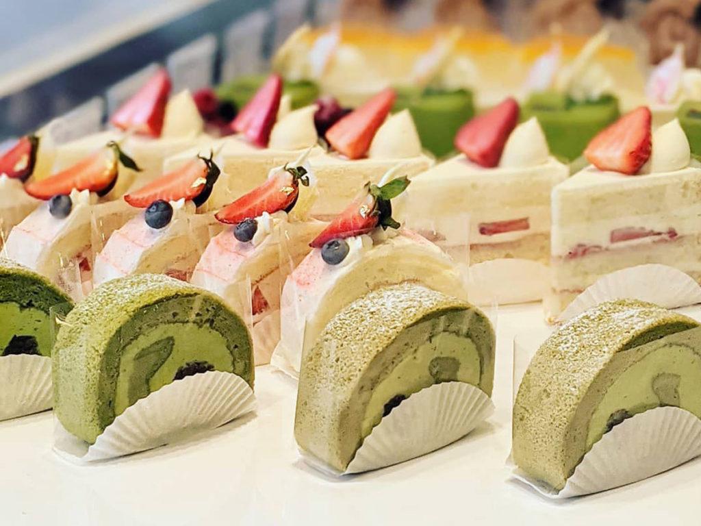 Japanese pastries at WA Cafe