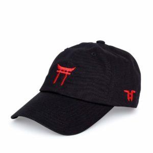 black template cap
