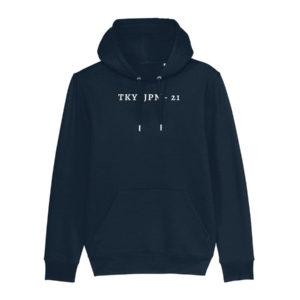 Tokyo Time TKY JPN Navy Hoodie