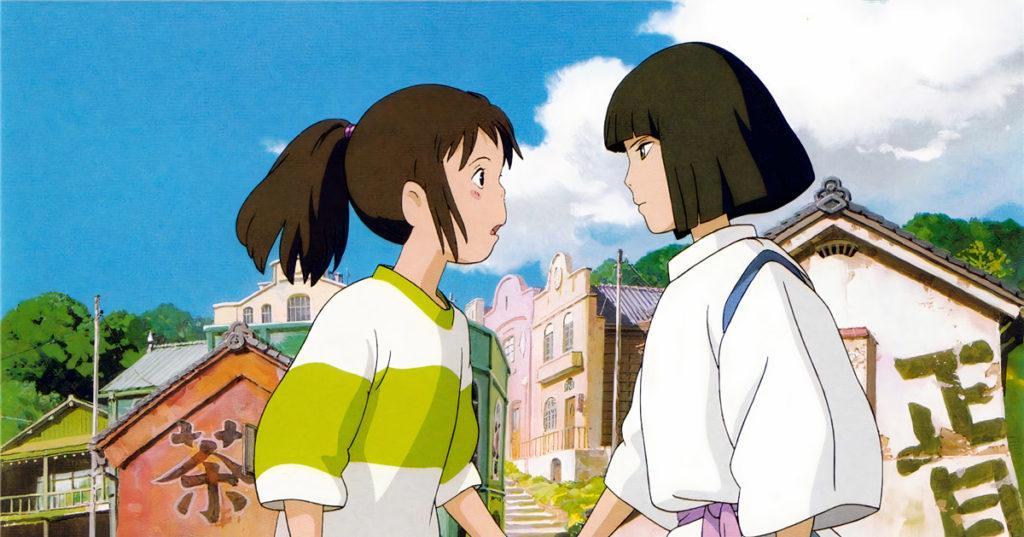 """Hayao Miyazaki's worldwide hit, """"Spirited Away"""""""