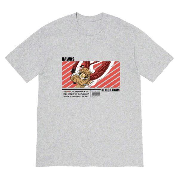 Grey My Hero Academia Keigo Takami T-shirt
